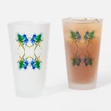 Earth Vibe Drinking Glass
