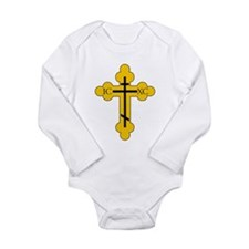 Cute Crossing Long Sleeve Infant Bodysuit