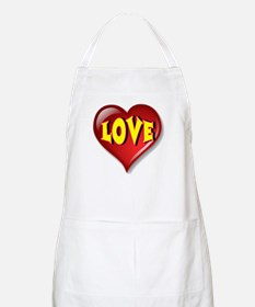 The Great LOVE Heart Apron