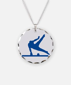 Pommel Horse Necklace