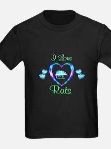 I Love Rats T