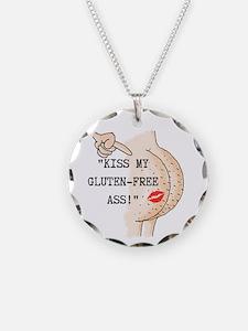 Kiss My Gluten-Free Ass Necklace