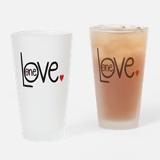 One Love Drinking Glass
