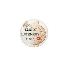 Kiss My Gluten-Free Ass Mini Button