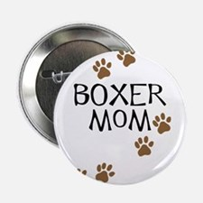 "Boxer Mom 2.25"" Button"