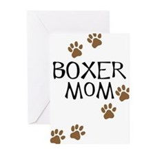 Boxer Mom Greeting Cards (Pk of 10)