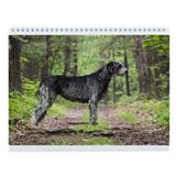 Irish wolfhound Wall Calendars