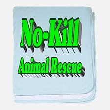 No-kill Animal Rescue baby blanket