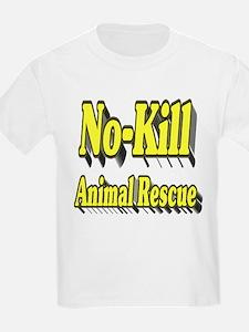 No-kill Animal Rescue T-Shirt