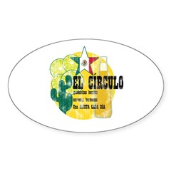 Mexican Bar Oval Decal