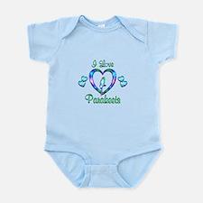 I Love Parakeets Infant Bodysuit