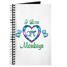 I Love Monkeys Journal