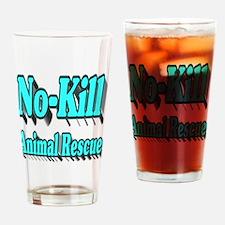 No-kill Animal Rescue Drinking Glass