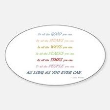Do gooder Sticker (Oval)