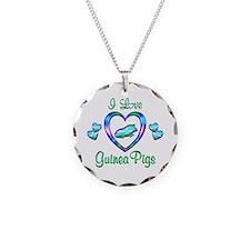 I Love Guinea Pigs Necklace