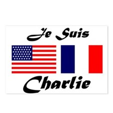 JE SUIS CHARLIE Postcards (Package of 8)