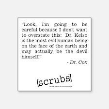 DR. COX Sticker