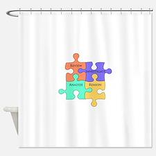 Cute Rational Shower Curtain