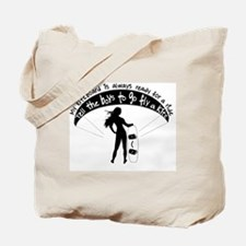 Ready for a ride Tote Bag