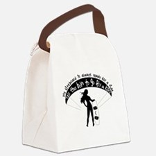 Ready for a ride Canvas Lunch Bag