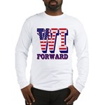 Wisconsin WI Forward Long Sleeve T-Shirt