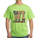 Wisconsin WI Forward Green T-Shirt