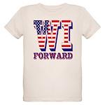 Wisconsin WI Forward Organic Kids T-Shirt