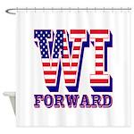 Wisconsin WI Forward Shower Curtain