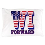 Wisconsin WI Forward Pillow Case