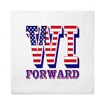 Wisconsin WI Forward Queen Duvet