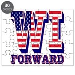 Wisconsin WI Forward Puzzle