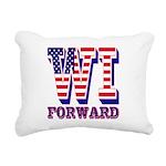 Wisconsin WI Forward Rectangular Canvas Pillow