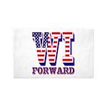 Wisconsin WI Forward Area Rug