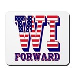 Wisconsin WI Forward Mousepad
