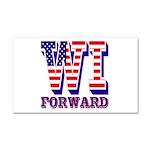 Wisconsin WI Forward Car Magnet 20 x 12