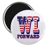 Wisconsin WI Forward Magnet