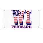 Wisconsin WI Forward Banner