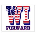 Wisconsin WI Forward Small Poster
