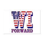 Wisconsin WI Forward Mini Poster Print