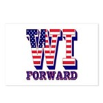 Wisconsin WI Forward Postcards (Package of 8)