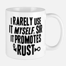 It Promotes Rust Robby The Robot Mugs