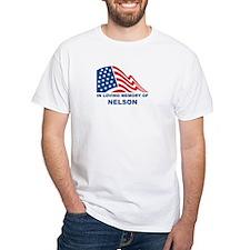 Loving Memory of Nelson White T-shirt