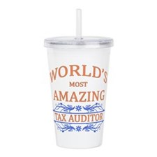 Tax Auditor Acrylic Double-wall Tumbler