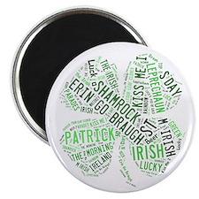 St. Patricks Shamrock Magnet