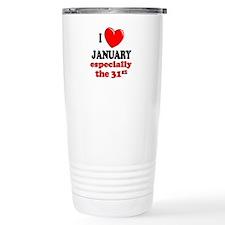 Cute Birthday 31 Travel Mug