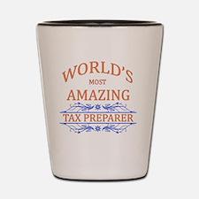 Tax Preparer Shot Glass