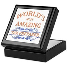 Tax Preparer Keepsake Box