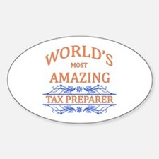 Tax Preparer Decal