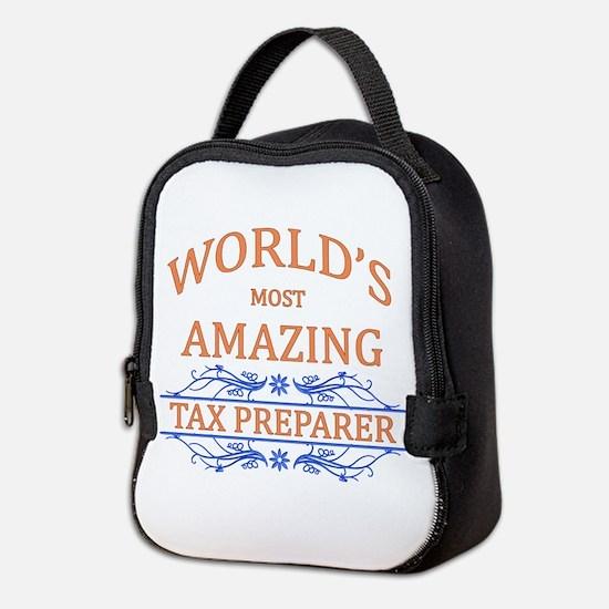 Tax Preparer Neoprene Lunch Bag