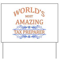 Tax Preparer Yard Sign